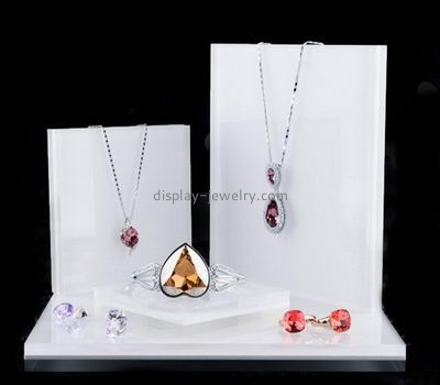 Customize acrylic jewelry display stands NDJ-586