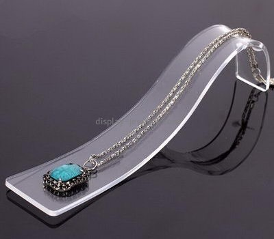 Customize perspex tall necklace display stand NDJ-606