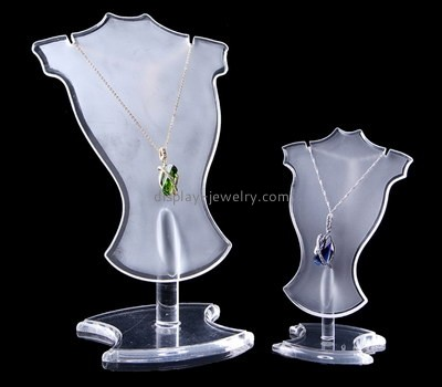 Customize perspex necklace stands displays NDJ-612