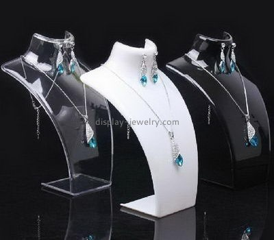 Customize acrylic necklace and earring stand NDJ-613