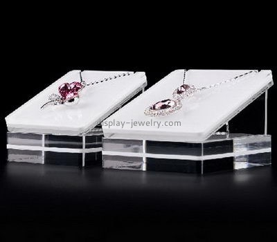 Customize acrylic jewelry necklace holder stand NDJ-630