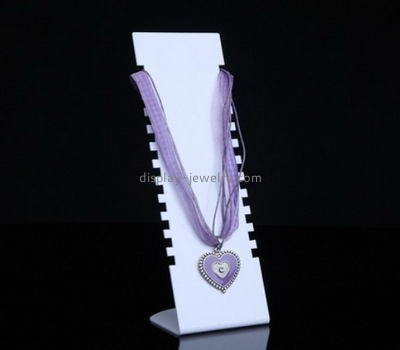 Customize lucite jewelry necklace holder stand NJD-640
