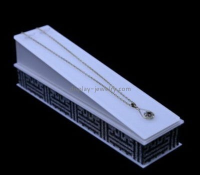 Customize acrylic long necklace holder stand NDJ-662