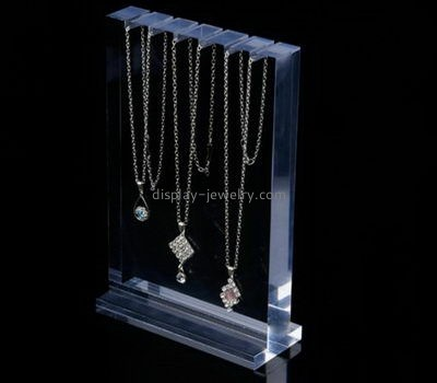 Customize acrylic clear necklace stand NDJ-661