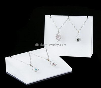 Customize white display for necklaces NDJ-677