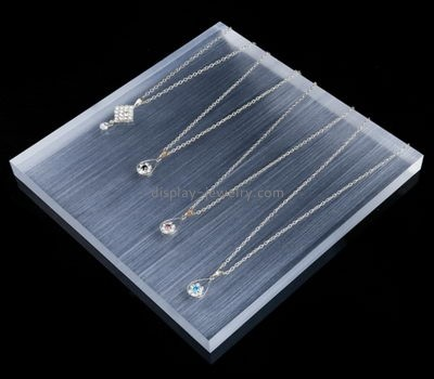 Customize acrylic necklace display NDJ-682