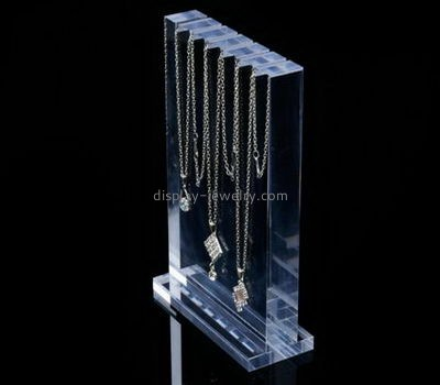 Customize plastic necklace stand NDJ-684