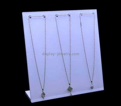 Customize lucite display necklace stands NDJ-693