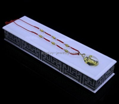 Customize acrylic necklace displays cheap NDJ-698