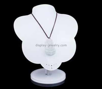 Customize lucite jewellery necklace display stands NDJ-705