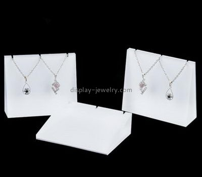 Customize lucite necklace displays cheap NDJ-702