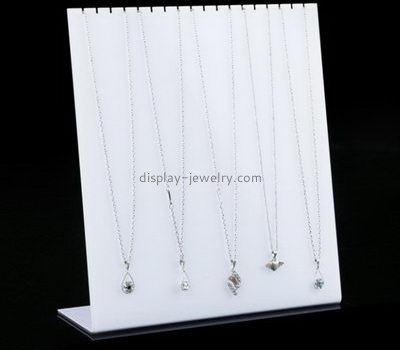 Customize perspex jewellery necklace display stands NDJ-707