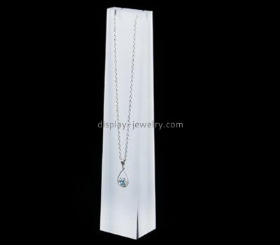 Customize lucite tall necklace stand NDJ-717