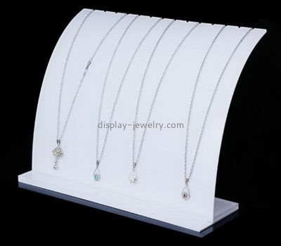 Customize acrylic necklace holder stand organizer NDJ-723