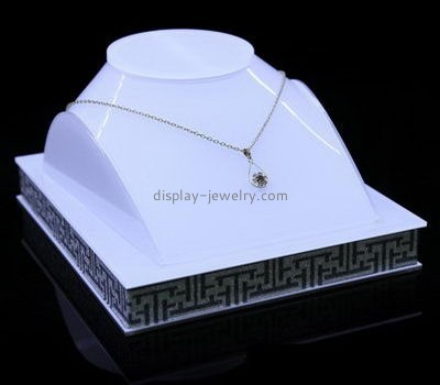 Customize acrylic necklace bust stand NDJ-727