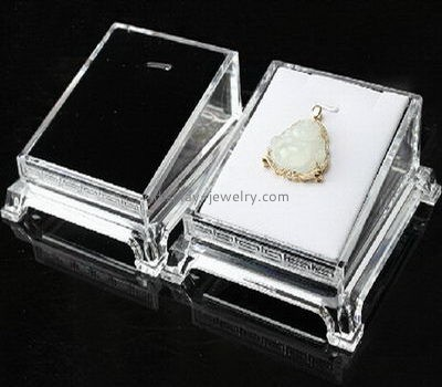 Customize acrylic necklace presentation box NDJ-726
