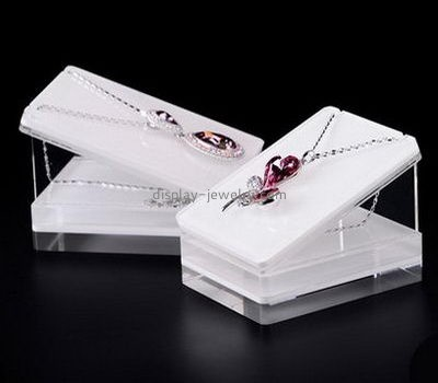 Customize lucite necklace holders display NDJ-732