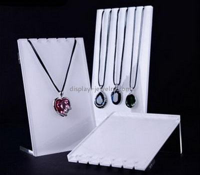 Customize perspex necklace holder stand NDJ-734