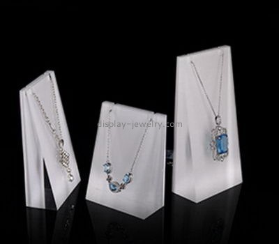 Customize acrylic jewelry necklace display NDJ-741