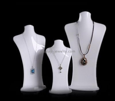 Customize plexiglass necklace bust display NDJ-746