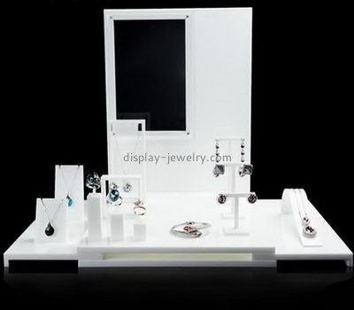 Customize acrylic retail jewelry display NDJ-755