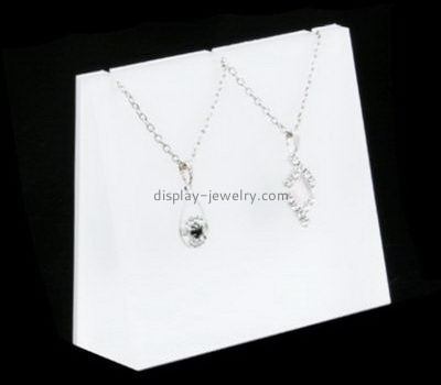 Customize acrylic cheap necklace display stands NDJ-767