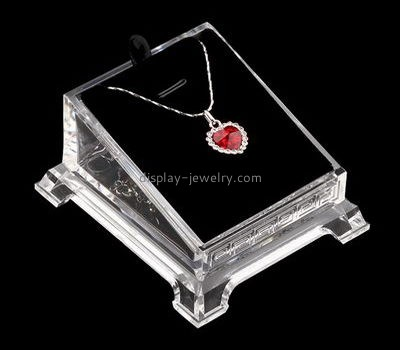 Customize acrylic necklace display case NDJ-776