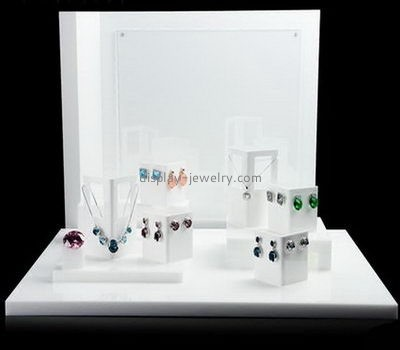 Customize acrylic jewelry counter display EDJ-443