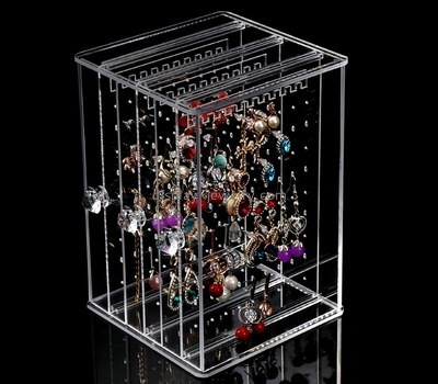 Customize acrylic earring display case EDJ-467