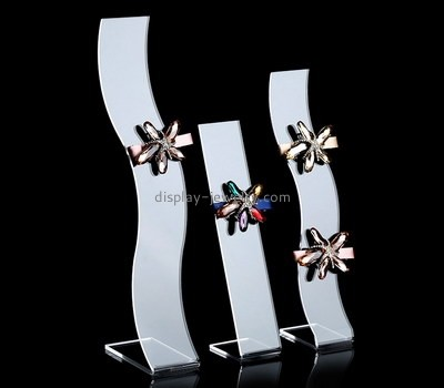 Elegant acrylic hairpin display stands ODJ-092