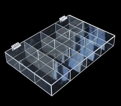 Custom clear acrylic 12 jewelry storage box ODJ-106