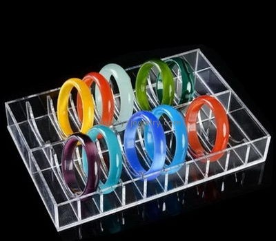 Customize clear acrylic bangle display organizer BDJ-249