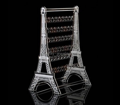 Custom acrylic eiffel tower earring display stands EDJ-495
