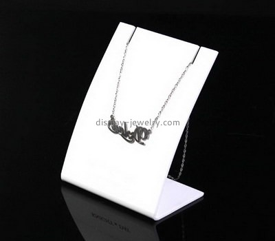 Custom acrylic display stand for necklace NDJ-798
