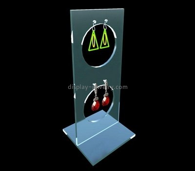 Custom acrylic earrings display stand EDJ-500