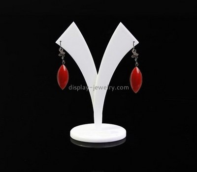 Custom Y shape acrylic earring display stand EDJ-502